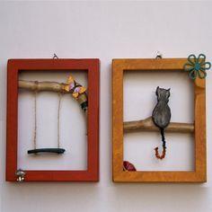 On the tree Konica Minolta, Handicraft, Digital Camera, Objects, Frame, Handmade, Home Decor, Art, Craft