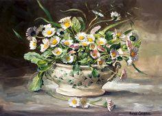 Pansies, Daffodils, Wood Sorrel, Cherry Blossom Season, Art Calendar, Primroses, Purple Christmas, Flower Images, Watercolor Paintings
