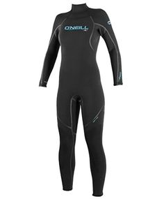 O'Neill Dive Wetsuits Womens 3 mm Sector Fluid Seam Weld Full Suit, ,Black, 6 * For more information, visit image link.