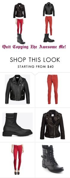 """Prussia #20"" by kreepykitten on Polyvore featuring Yves Saint Laurent, Dsquared2, True Religion, Refresh, women's clothing, women, female, woman, misses and juniors"