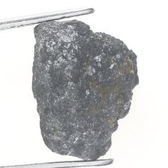 4.35 Ct Brazilian Carbonado Rough Loose Diamond Natural Shape Unique Diamond