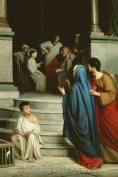 Christ teaching in the Temple. Carl Bloch.