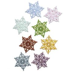 Free beaded holiday snowflake ornament tutorial from Bead & Button magazine