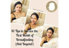 As a mom that has breastfed for a total of 6 years, Quin is sharing her 10 best tips to conquer the first month of breastfeeding and beyond.