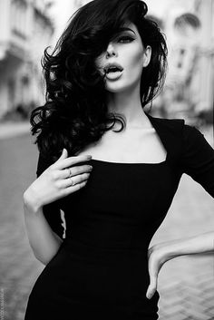 Hot brunette - Retro by Vicoolya and Saida on 500px