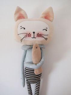 Katzen-Stofftier