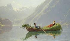 """""""A Summer Romance""""  Hans Dahl"""
