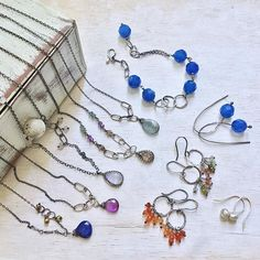 New jewels just posted for sale in my Etsy shop!