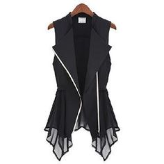 Buy 'Eloqueen – Chiffon-Hem Vest ' with Free International Shipping at YesStyle.com. Browse and shop for thousands of Asian fashion items from China and more!