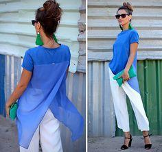 Nolo Fashion T Shirt, River Island Clutch, Zara Pants
