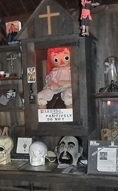 Warren Occult Museum | Travel | Vacation Ideas | Road Trip | Places to Visit | Monroe | CT | Offbeat Attraction | Museum