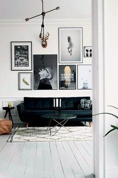 Gallery wall - a nova tendência em decoração ~ Decoração e Ideias - casa e jardim
