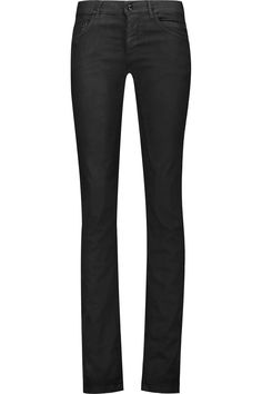 RICK OWENS Berlin Mid-Rise Straight-Leg Jeans. #rickowens #cloth #jeans
