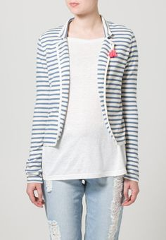 Maison Scotch - Blazer - off white/blue