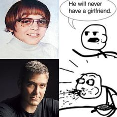 Oh Clooney!