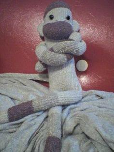 Socky the Sock Monkey! He is my first sock monkey!:)