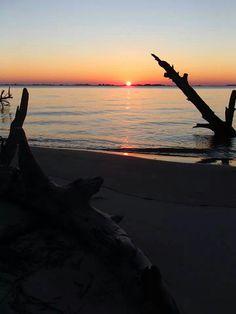 St. Andrew's Beach, Jekyll Island