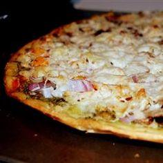 Chicken Pesto Pizza -Allrecipes