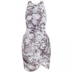 Precocious Floral Twist Dress