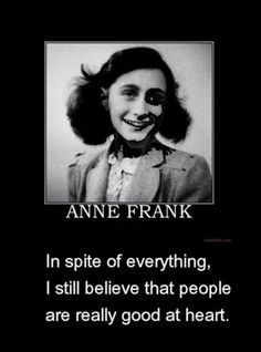Anne Frank - June 12, 1929 - March 1945 - reportedly died of Typhus