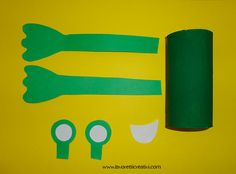 rana-rotolo-carta-igienica1 Craft Activities, Diy And Crafts, Ideas Creativas, Symbols, Letters, Easter, Classroom, Activities, Animales