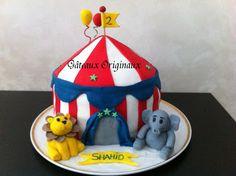 Gâteaux Originaux: Chapiteau cirque