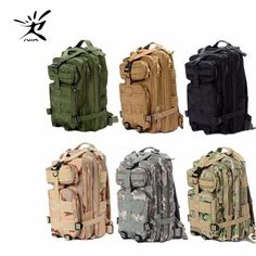 1000D Nylon 9 Colors 30L Waterproof Outdoor Military Rucksacks Tactical backpack Sports Camping Hiking Trekking Fishing Hunting