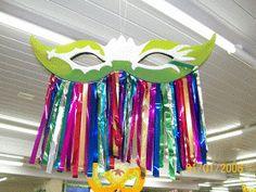 Decoração para o carnaval