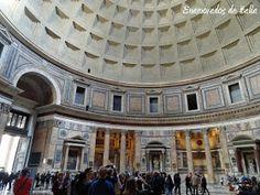 Interior del Panteon de Agripa, Roma.