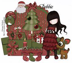 Gorjuss Tag Christmas Clipart, Christmas Paper, Christmas Images, Christmas Projects, Atc Cards, Christmas Cards, Clipart Noel, Christmas Planning, Holly Hobbie