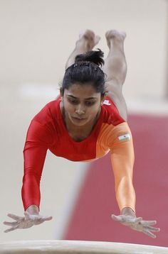 Dipa Karmakar on Monday created history by becoming the first Indian woman gymnast to qualify for Olympics as she booked a berth for the Rio Games after a strong performance at the final qualifying a #gymnastics #india #olympics
