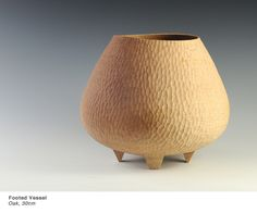 Liam Flynn - Footed Oak Vessel - 30cm