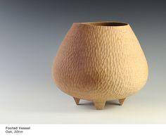 Liam Flynn - Footed Oak Vessel - 30cm