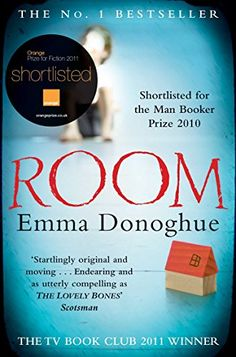 Room von Emma Donoghue a very powerful book about a woman an her son trapped in their kidnapper's backyard. The son's perspective and the novel's riveting close brings tears to the eyes of the readers. Book Club Books, Books To Read, My Books, Reading Groups, Reading Lists, Mothers Love For Her Son, Room Emma Donoghue, The Lovely Bones, Thing 1