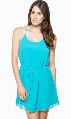 SIMPLY CHIC DRESS IN TEAL