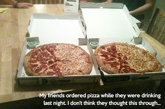 Your pizza is here! Nope. Another pizza delivery FAIL.