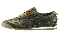 Onitsuka tiger animalier pack AW LAB exclusive edition : mexico 66 Camo Army green
