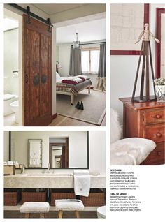 "March issue of Caras Decoração Magazine features our country chic project ""Southern Comfort""."