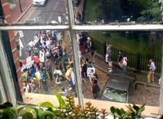 Angry anti-war protesters besiege John Kerry's home, banging on doors, windows | Sept. 1, 2013.
