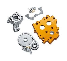 Screamin' Eagle Hydraulic Cam Chain Tensioner Plate Upgrade Kit-25284-11