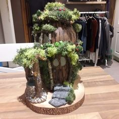 Latest Creation #fairyhouse #fairydoor #fairygarden #fairyhouses