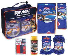 Kit de paños de microfibra mas esponja y chamois Revigal Kit, Coffee, Drinks, Food, Home, Auto Detailing, Free Market, Beverages, Kaffee