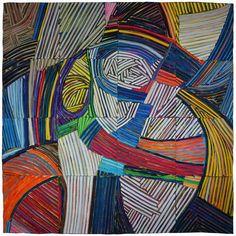 Kit Vincent Textile Art | Moby Dick