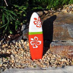 Surf Board #miniature #fairy #garden #beach