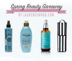 Giveaway: Lauren's Spring Hair Care Picks {Click to enter for a chance to win!}