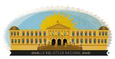 PASEO DE RECOLETOS, 20-22 - BIBLIOTECA NACIONAL Madrid, Taj Mahal, Librarians, Building, Travel, Pop, Walks, Cities, Viajes