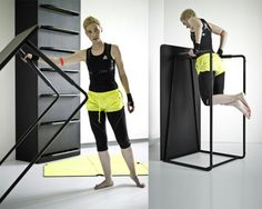 work out furniture - a new take on working out for small spaces