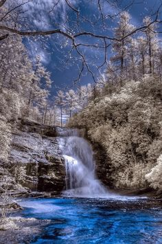 Secret Falls - Highland, North Carolina