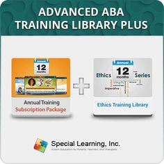 Now for ONLY $99! 1 year access to more than 40 webinars with Unlimited CEUs. Here is the link - https://store.special-learning.com/products/product-238