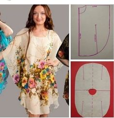 - Source by eyma_b - Dress Sewing Patterns, Clothing Patterns, Fashion Sewing, Diy Fashion, Moda Fashion, Instagram Mode, Costura Fashion, Sewing Blouses, Sewing Stitches